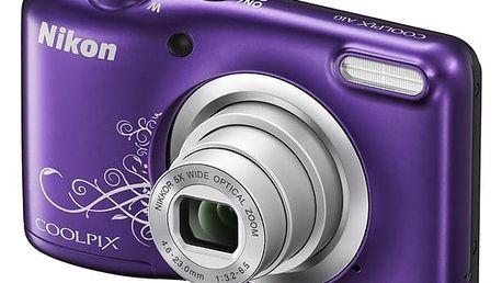 Digitální fotoaparát Nikon Coolpix A10 fialový