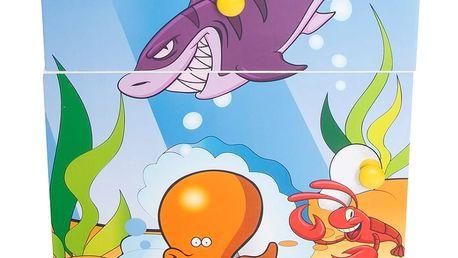 Dětská komoda Homestyle4U, Oceán