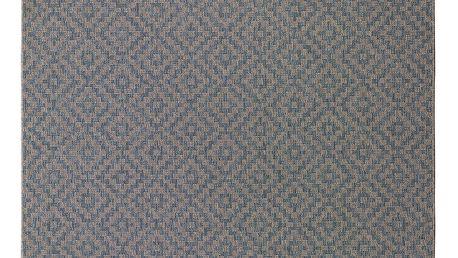 Šedomodrý koberec Universal Verdi, 160 x 230 cm