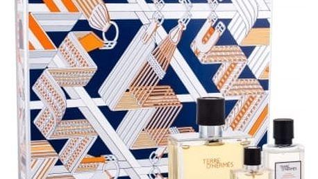 Hermes Terre D´Hermes dárková kazeta pro muže parfém 75 ml + voda po holení 40 ml + parfém 12,5 ml