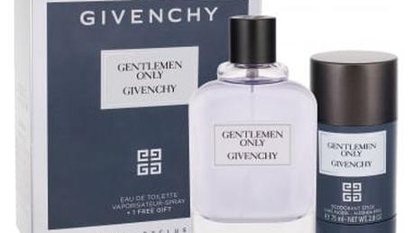Givenchy Gentlemen Only dárková kazeta pro muže toaletní voda 100 ml + deostick 75 ml