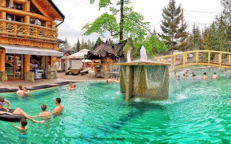 Celodenní relax na termálním koupališti Goracy Potok