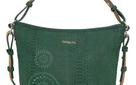 Desigual zelená kabelka Astún Agora