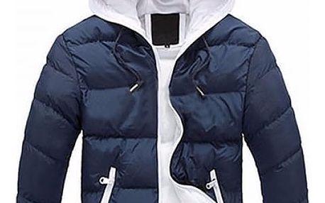 Pánská prošívaná bunda Santo s kapucí