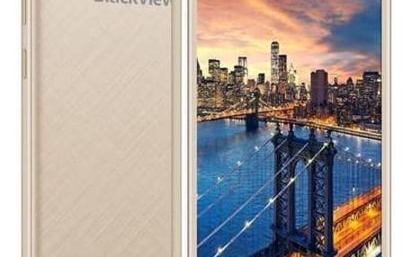 Mobilní telefon iGET BLACKVIEW GA7 Pro (84000422) zlatý + Doprava zdarma