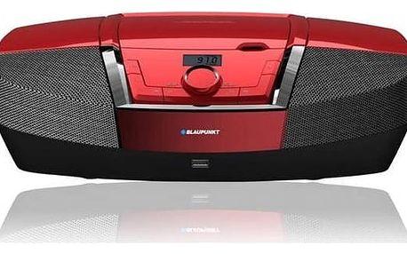 Radiopřijímač s CD Blaupunkt BB12RD (BB12RD) červený