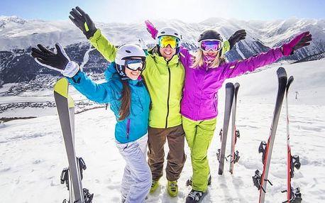 Rakouské Alpy: zimní dovolená