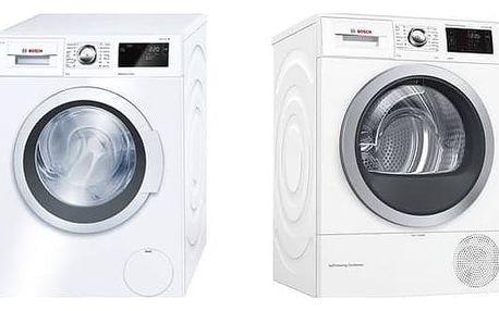 Set výrobků Bosch WAT28660BY + WTW876WBY + Doprava zdarma