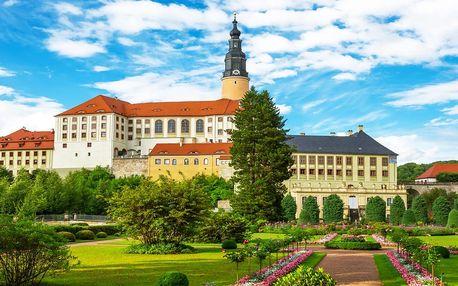 Výlet na nejkrásnější hrady a zámky německého Saska pro 1 osobu