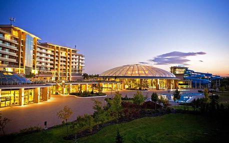 Aquaworld Resort Budapešť s wellness a polopenzí + dítě zdarma, AKCE 4 za 3 dny