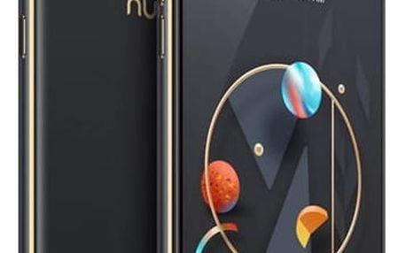 Mobilní telefon Nubia M2 Lite Dual SIM 4 GB + 32 GB (6902176900860) černý/zlatý + DOPRAVA ZDARMA