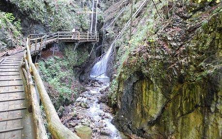 Sobotní turistický výlet do Ptačí soutěsky v Rakousku pro 1 osobu