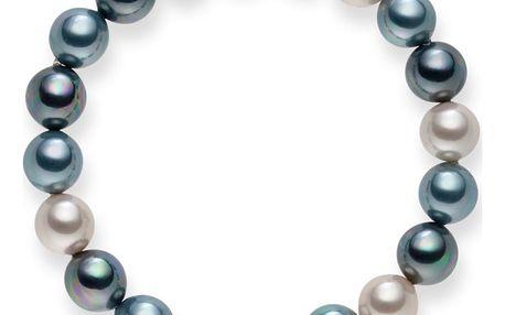 Perlový náramek Tahiti Silver Blue