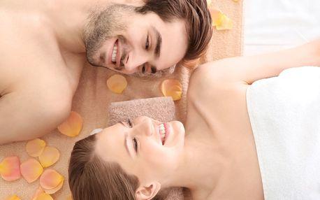Partnerská masáž v délce 180 minut