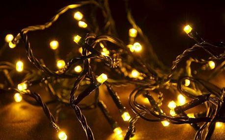 Nexos 28385 Vánoční LED osvětlení 30 m - teple bílé, 300 diod
