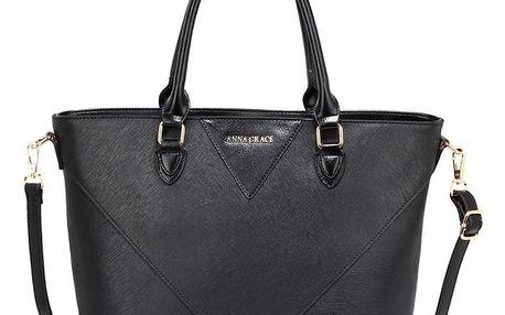 Dámská černá kabelka Liberty 518