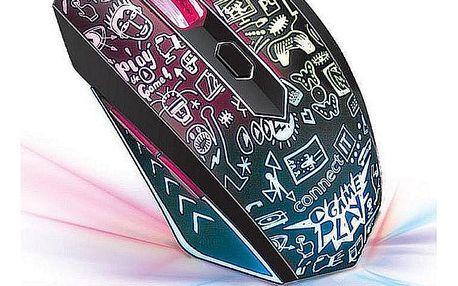 Herní myš CONNECT IT DOODLE CI-1143, optická
