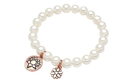 Perlový náramek Perldesse Ina, perla,⌀0,8cm