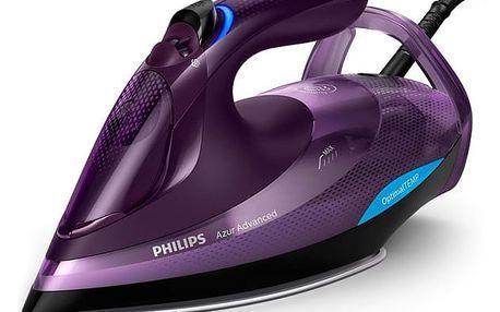 Žehlička Philips Azur Advanced GC4934/30 fialová + DOPRAVA ZDARMA