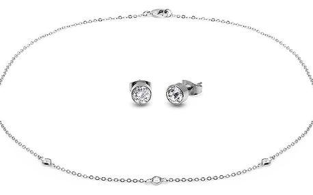 Set náhrdelníku a náušnic s krystaly Swarovski® GemSeller