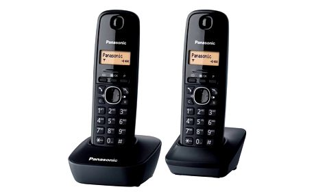 Domácí telefon Panasonic KX-TG1612FXH (KX-TG1612FXH) šedý