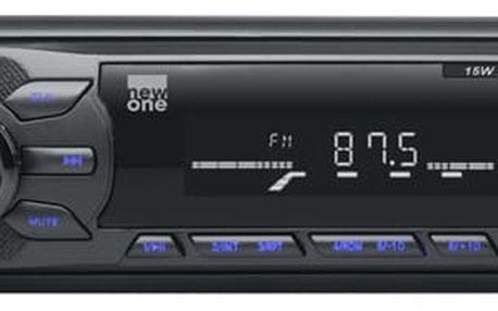 Autorádio bez CD NEW ONE AR260 černé