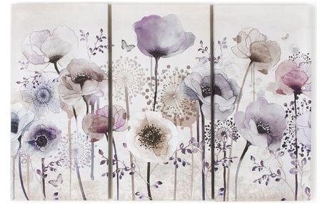 Trojdílný obraz Graham & Brown Classic Poppy - doprava zdarma!