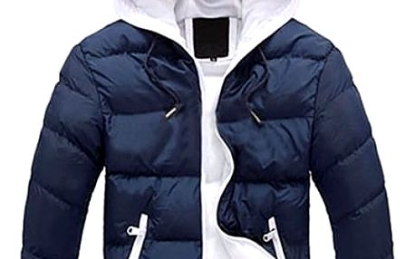Pánská lehká bunda Santo s kapucí