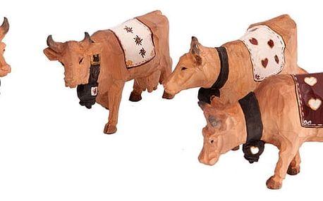Sada 4 figurek AnticLine Cow - doprava zdarma!