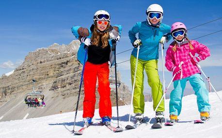 Na lyže do rakouských Alp: 5 nocí s polopenzí