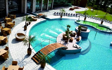 Luxusní Hotel Spirit Thermal Spa, Sárvár s Wellness o ploše 10 000 m2