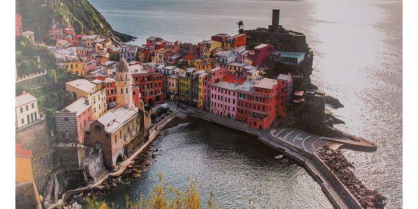 Obraz na stěnu - Město u moře