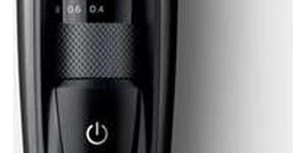 Zastřihovač vousů Philips BT5200/15 černý + Doprava zdarma
