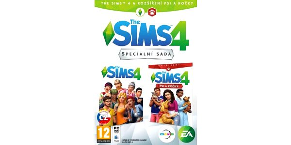 PC hra The Sims 4 + PC The Sims 4: Psi a Kočky