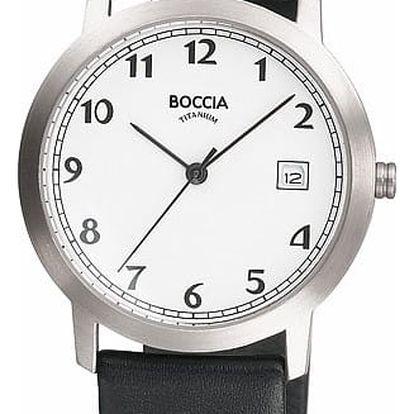 Boccia Titanium 510-95 + nůž, pojištění hodinek, doprava ZDARMA, záruka 3 roky