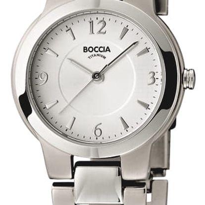 Boccia Titanium 3175-01 + nůž, pojištění hodinek, doprava ZDARMA, záruka 3 roky