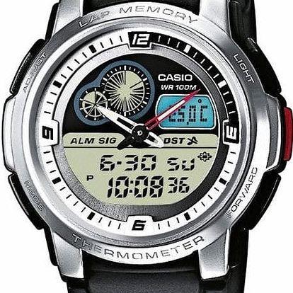 Casio AQF 102-7B + nůž, pojištění hodinek, doprava ZDARMA, záruka 3 roky