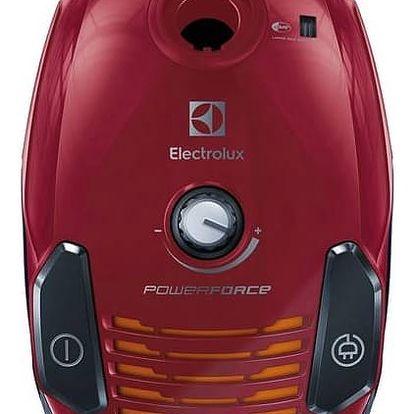 Vysavač podlahový Electrolux PowerForce EPF61RR červený + Doprava zdarma