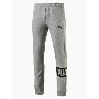 Tepláky Puma Rebel Sweat Pants Fl Cl Medium Gr Šedá
