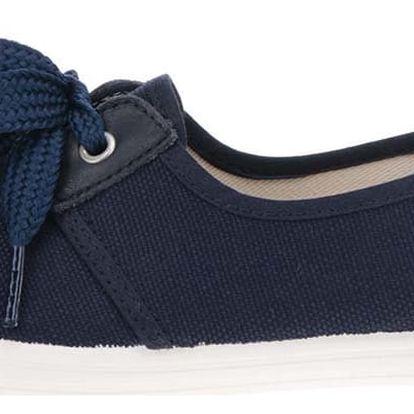 Tmavě modré dámské tenisky s tkaničkami OJJU