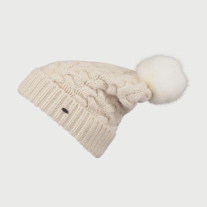 Čepice O´Neill BW Nora Wool Alpaca Mix Beanie Bílá
