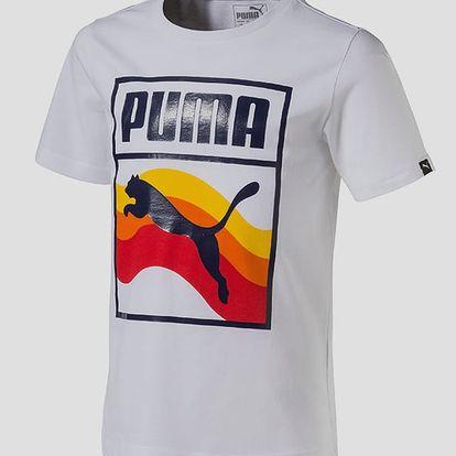 Tričko Puma Summer Brand Tee Puma Whi Bílá