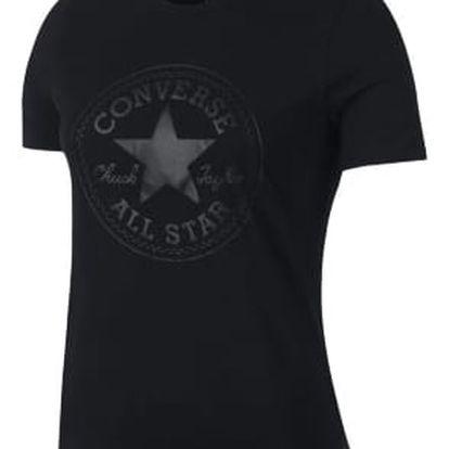 Dámské tričko Converse Puff CP crex Tee černá M