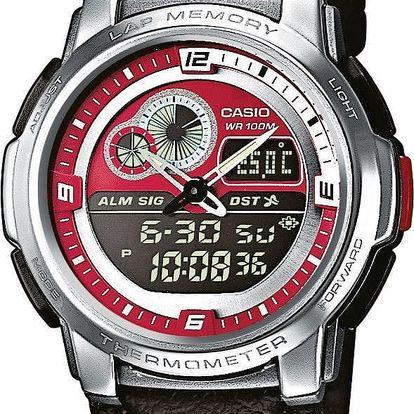 Casio AQF 102L-4B + nůž, pojištění hodinek, doprava ZDARMA, záruka 3 roky