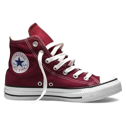 Kotníkové boty Converse CHUCK TAYLOR ALL STAR HI Maroon 37