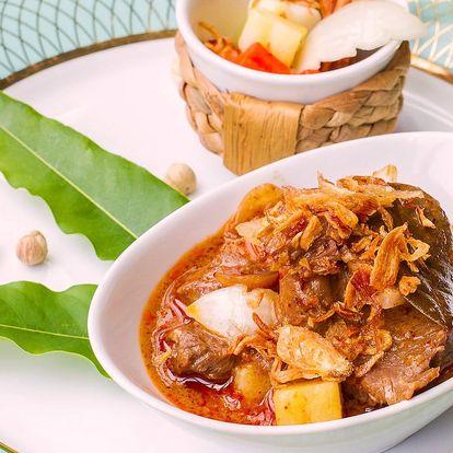 Thajské degustační menu v Café Buddha pro dva