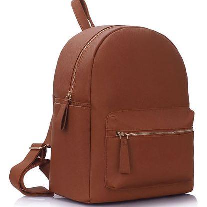 Dámský hnědý batoh Miranda 186A