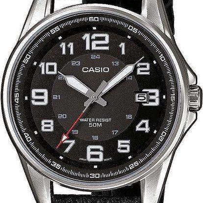 Casio MTP 1372L-1B + nůž, pojištění hodinek, doprava ZDARMA, záruka 3 roky