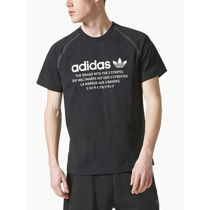 Tričko adidas Originals NMD D-TEE Černá