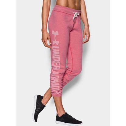 Tepláky Under Armour Favorite Fleece Pant Růžová